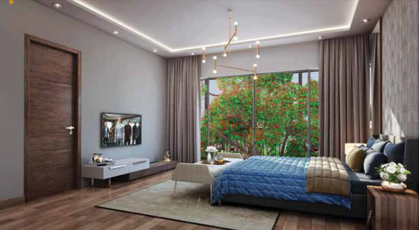 Vaishnavi Rhapsody Bedroom area | Best Real Estate Projects | 3 and 4 BHK duplex units are available for sale at Milton St, Cooke Town, bengaluru