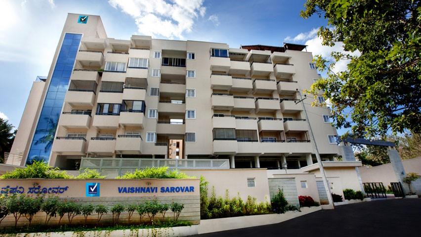 Vaishnavi Sarovar | Vaishnavi Group | Luxury 2 BHK & 3 BHK Apartments for sale in Yadavagiri, Mysore