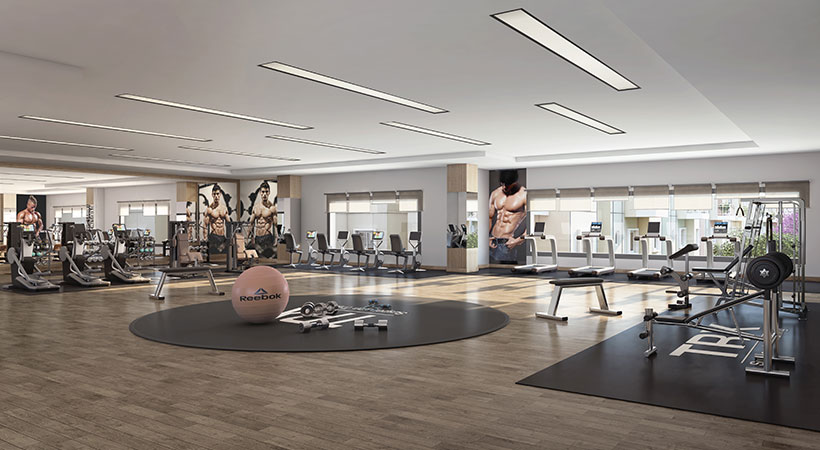 Vaishnavi Serene GYM   Best Property to buy   1, 2, 3 BHK flats are available in Yelahanka, bengaluru with great amenities and Clubhouse
