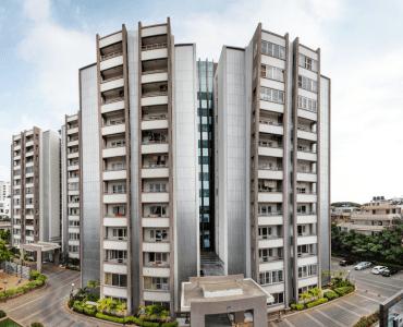 Vaishnavi Splendour front view | Vaishnavi Group | Luxury 3 BHK & 4 BHK flats are for sale in RMV Layout, bengaluru