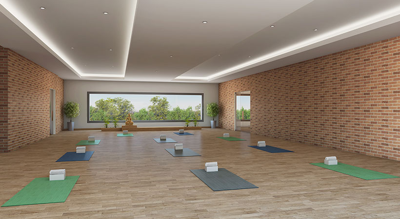 Vaishnavi Serene Yoga Centre   Best Property to buy   1, 2, 3 BHK flats are available in Yelahanka, bengaluru with great amenities and Clubhouse