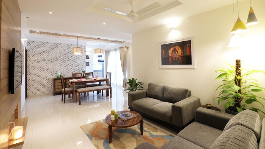 Vaishnavi Group Living Room | Best real estate developers in bengaluru