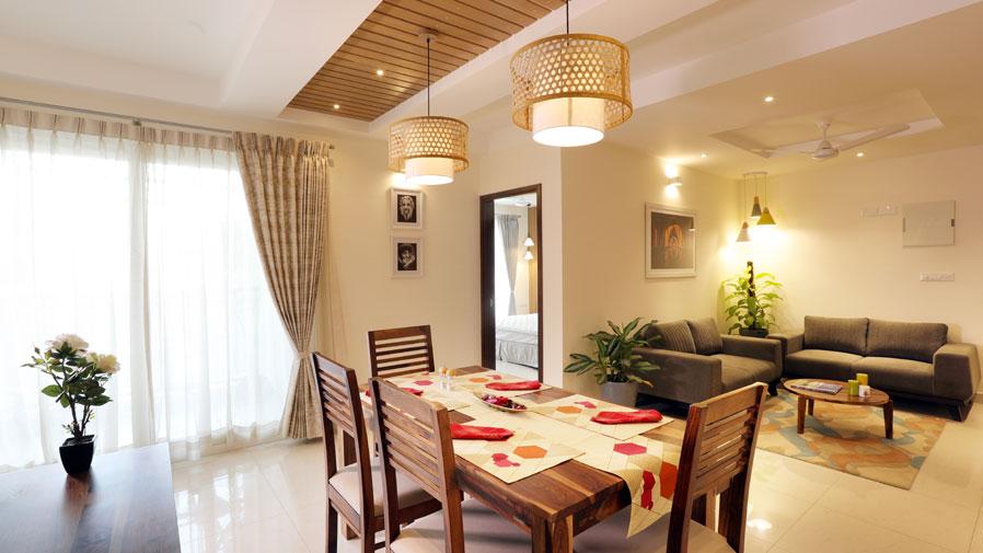 Vaishnavi Group Dining Room | Best real estate developers in bengaluru