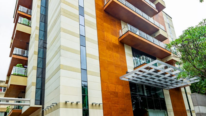Vaishnavi Meridian Building entrance | Best Corporate Workplace is now available to occuy at Infantry Road, bengaluru