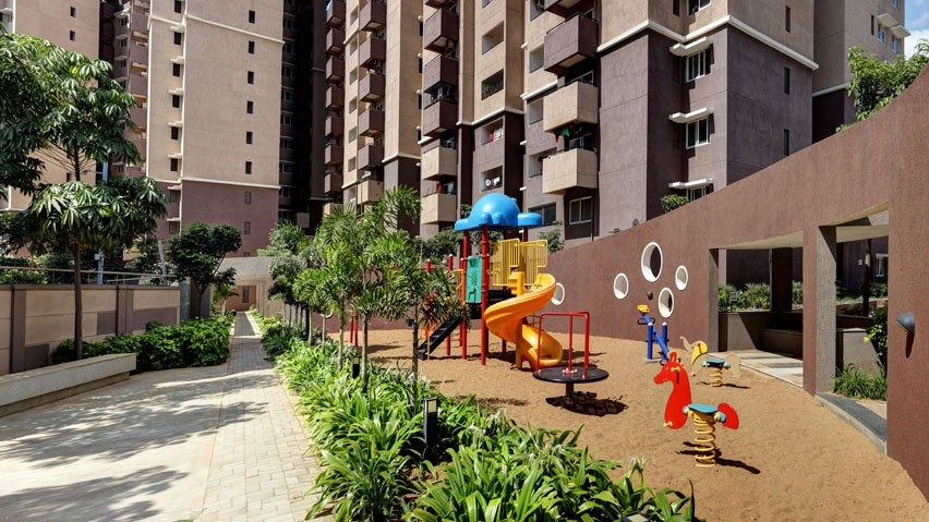 Vaishnavi Nakshatra Children's play area | Best 2 BHK & 3 BHK Property to buy is for sale in Yeshwanthpur, bengaluru