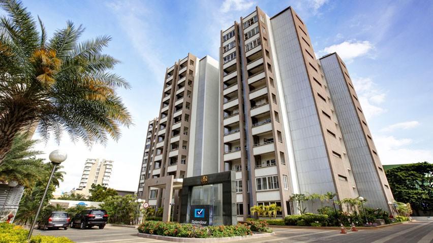 Vaishnavi Splendour daylight view | Vaishnavi Group | Luxury 3 BHK & 4 BHK flats are for sale in RMV Layout, bengaluru