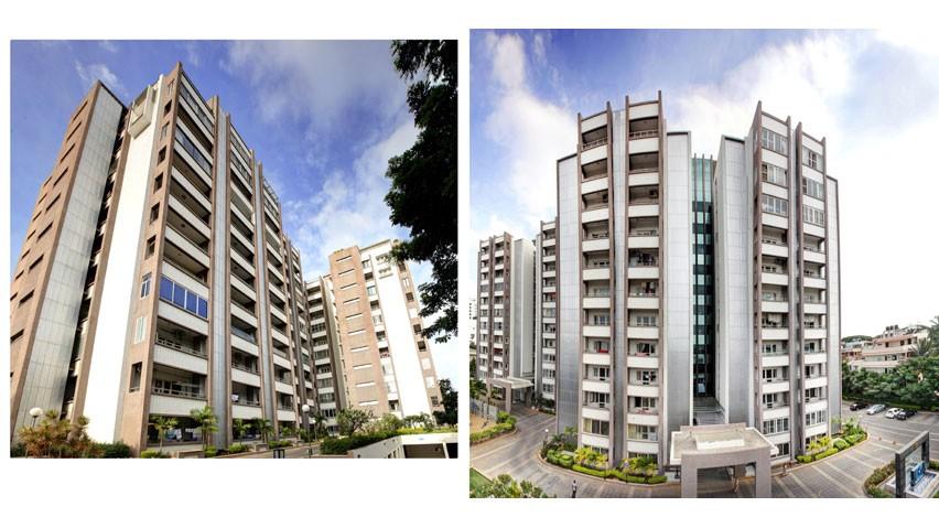 Vaishnavi Splendour side view | Vaishnavi Group | Luxury 3 BHK & 4 BHK flats are for sale in RMV Layout, bengaluru