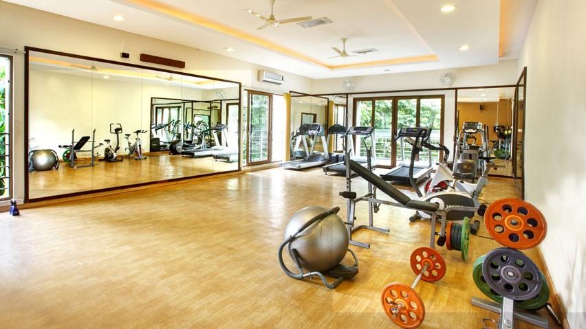 Vaishnavi Splendour Gymnasium area | Vaishnavi Group | Luxury 3 BHK & 4 BHK flats are for sale in RMV Layout, bengaluru