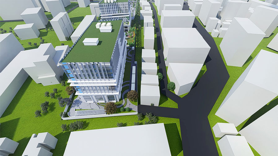 Vaishnavi Tech Park top view | Commercially available Office Space is now ready to occupy at Sarjapur Road, bengaluru