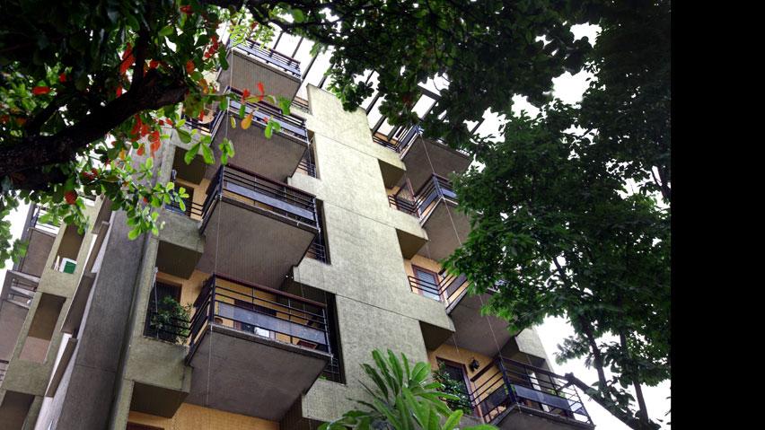 Vaishnavi Springs bottom to top view   Vaishnavi Group   Luxury 3 BHK Apartments for sale in Basavanagudi, bengaluru