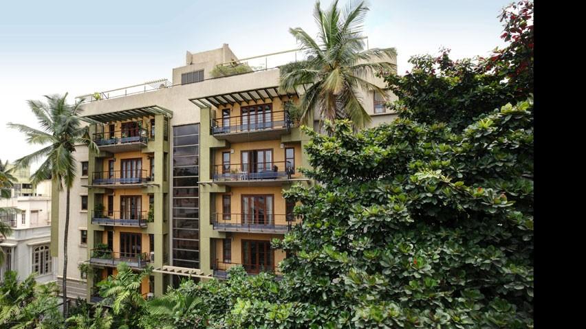 Vaishnavi Springs side view   Vaishnavi Group   Luxury 3 BHK Apartments for sale in Basavanagudi, bengaluru