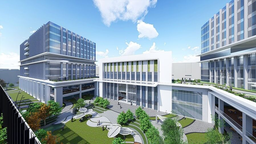 Vaishnavi Tech Park right side view | Commercially available Office Space is now ready to occupy at Sarjapur Road, bengaluru