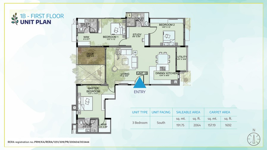 1B-First-floor-Unit-plan