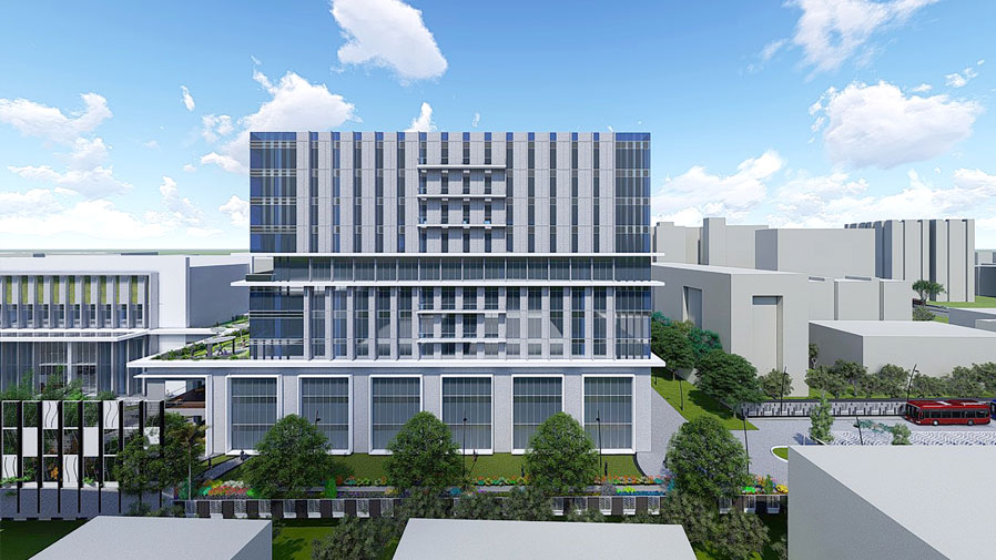 Vaishnavi Tech Park side view | Commercially available Office Space is now ready to occupy at Sarjapur Road, bengaluru