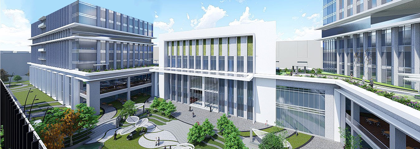 Vaishnavi Tech Park common assembly area | Commercially available Office Space is now ready to occupy at Sarjapur Road, bengaluru