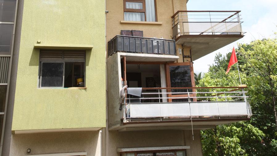 Vaishnavi Symphony balcony | Ready to occupy 3 BHK flats are for sale in Malleshwaram, bengaluru