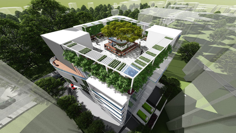 Vaishnavi Icon top view model | Best Corporate officeplace is now available to occupy at Richmond Road, bengaluru