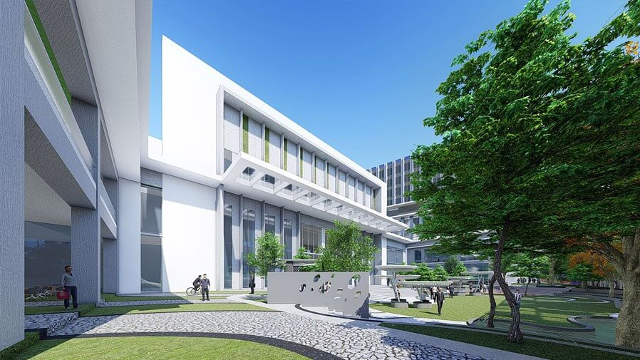 Vaishnavi Tech Park open air walking area | Commercially available Office Space is now ready to occupy at Sarjapur Road, bengaluru