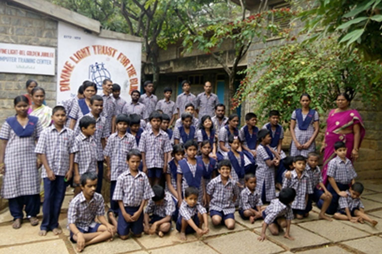 The Divine Light Trust for the Blind | Vaishnavi Group joins hands for providing education and training support for the children | Bengaluru