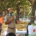 Support for Bengaluru Police 1 | Essentials Kits for Frontline Workers | Community Outreach Programme | Vaishnavi Group | Bengaluru